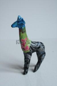 De giraffe door Bor gemaakt!