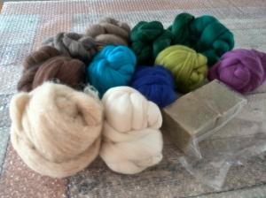 de uitgezochte kleurtjes. Best een klus uit 250!! prachtige kleuren Merinowol